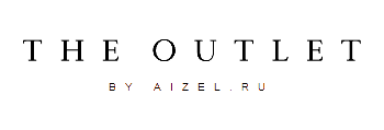 Логотип магазина THE OUTLET