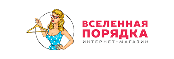 Логотип магазина Вселенная порядка