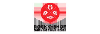 Логотип магазина Rocky-shop