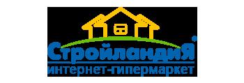 Логотип магазина Стройландия