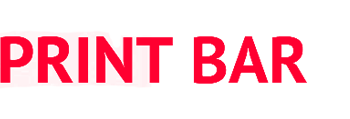 Логотип магазина Printbar