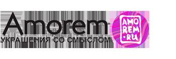 Логотип магазина Amorem